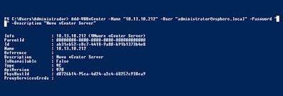 Dica Veeam Backup & Replication: Adicionando um novo servidor VMware vCenter via linha de comando
