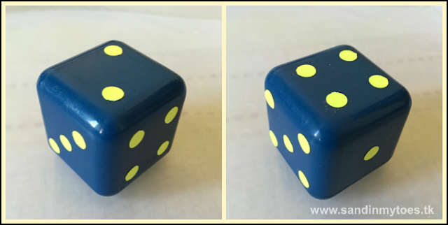 Simple DIY dice for counting and math activities!