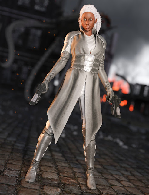 Ida Outfit for Genesis 3 Female