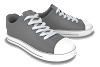 Canvas Shoe 3D Model Free Download,Max,Obj,Low poly