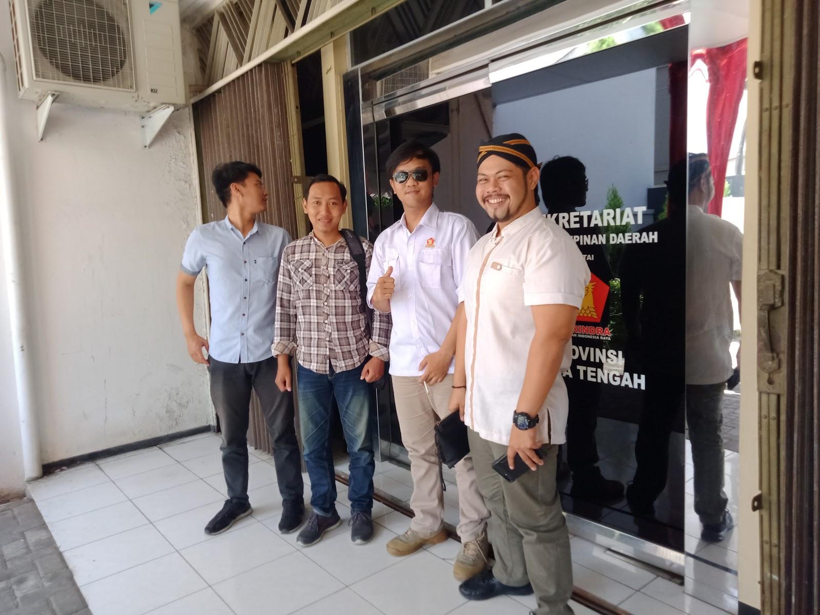 Sekretariat DPD Partai Gerakan Indonesia Raya (Gerindra) Provinsi Jawa Tengah