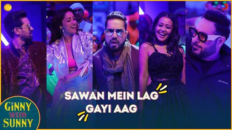 Sawan Mein Lag Gayi Aag Lyrics Ginny weds Sunny
