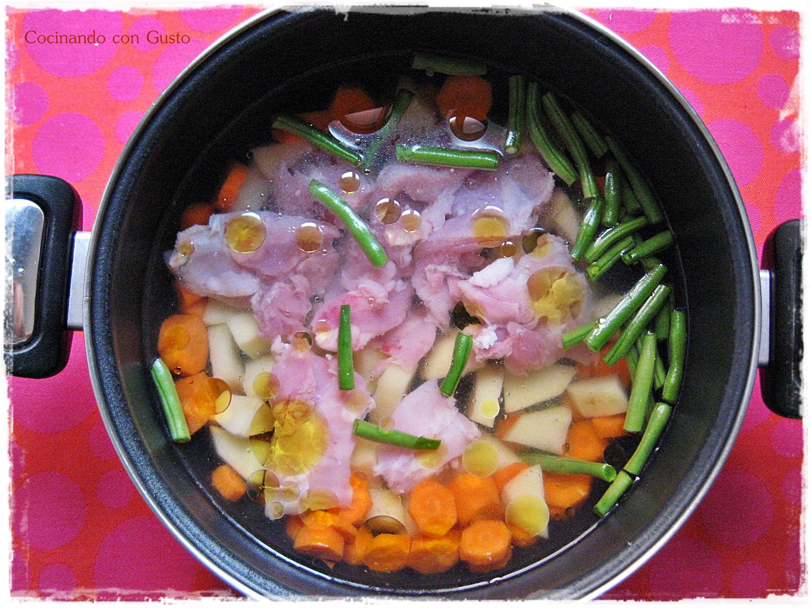 Cocinando con gusto papilla de pollo para beb s de 6 meses - Papillas para bebes de 6 meses ...