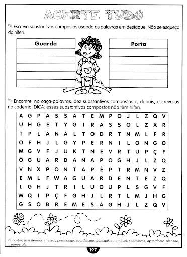 Exercicios de substantivos concretos e abstratos