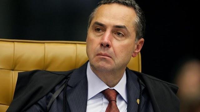 Após discursos de Bolsonaro no 7 de Setembro, Barroso diz que é 'cansativo ter que desmentir falsidades' de 'maus perdedores'