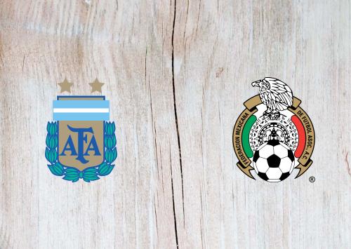 Argentina vs Mexico Full Match & Highlights 11 September 2019