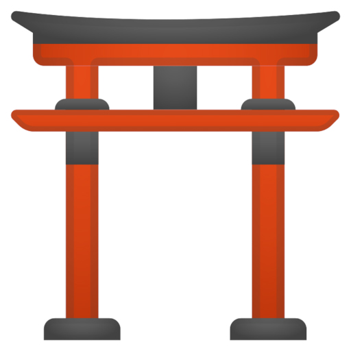 El significado de los emojis, el Torii del Jinja Shinto