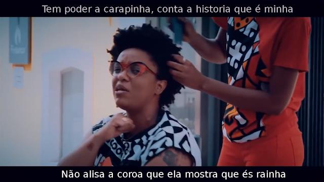 """ANGOLA - MCK e a Girinha Kennedy rimam, em """"Rap Crespo"""" sobre a valorização da estética africana."""