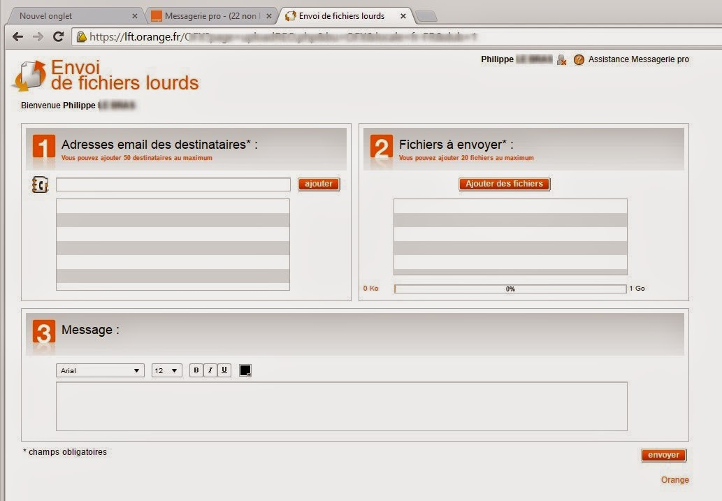 Messagerie mail pro : envoyer vos fichiers lourds ...