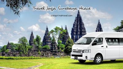 Travel Jogja Surabaya Hiace