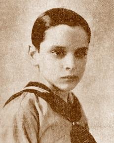 Santiago Gavín, campeón infantil de ajedrez 1932
