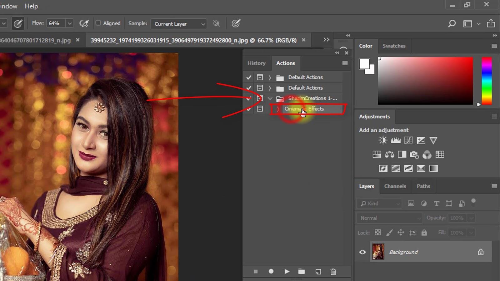 Cinematic Color Grading Effect Screenshot 3