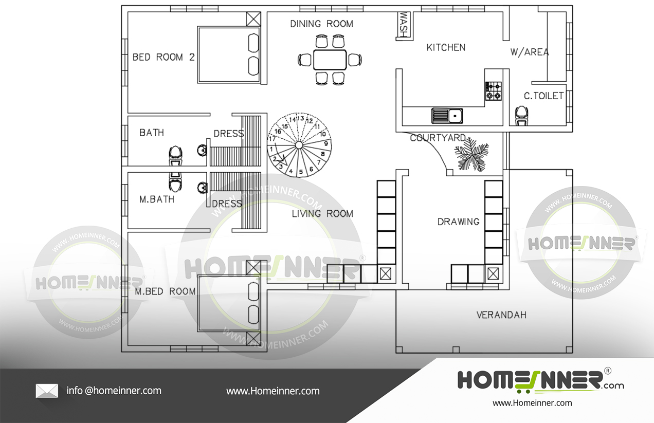 Free Kerala Home Design Below 20 Lakhs Floor Plans