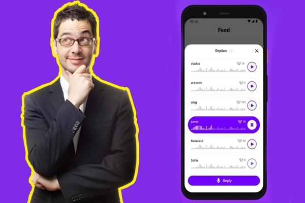 قبل الجميع .. تطبيق جديد آثار جدل كبير في المنصات الأجنبية للتواصل مع الأخرين باستعمال صوتك فقط