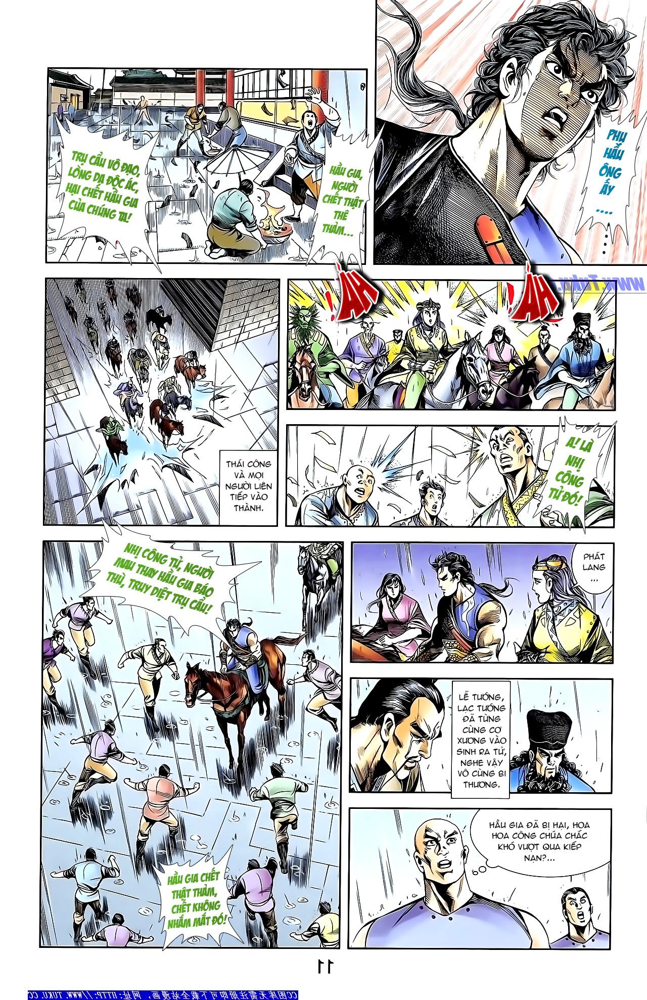 Cơ Phát Khai Chu Bản chapter 152 trang 22