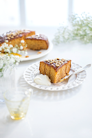 Honey Pine Nut Cake