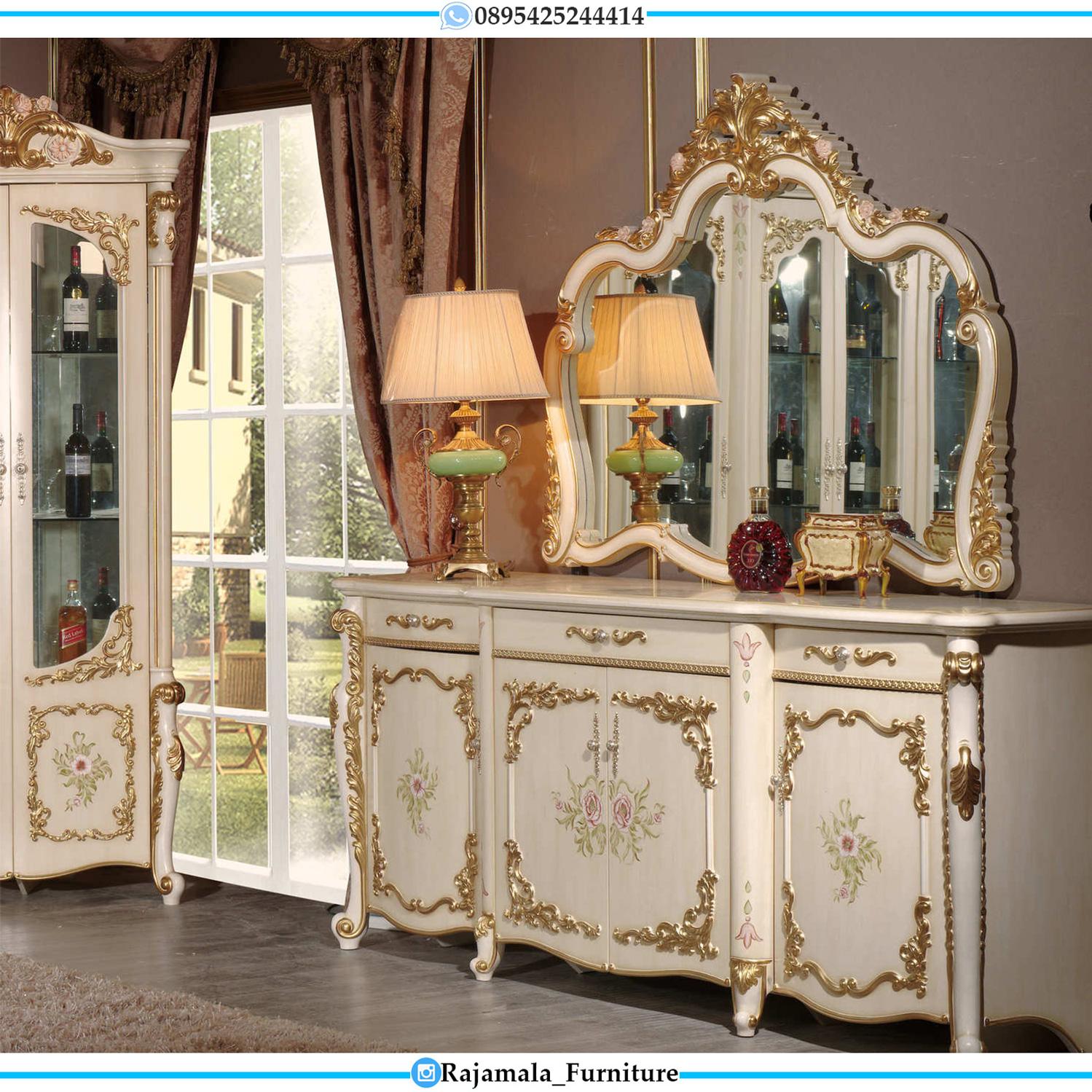 Model Meja Konsul Mewah Ukir Jepara Luxury Carving RM-0108