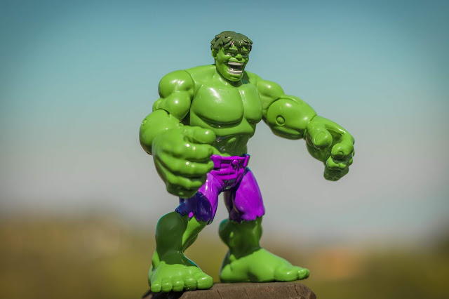 Incredible Hulk toy Photo by Limor Zellermayer on Unsplash