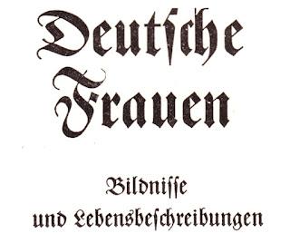 Deutsche Frauen. Bildnisse und Lebensbeschreibungen. Eingeleitet von Ina Seidel. Verlag Ernst Steiniger, Berlin 1939