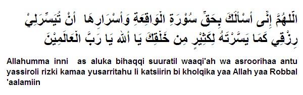 Amalan Surat Al Waqi'ah Untuk Rezeki Melimpah