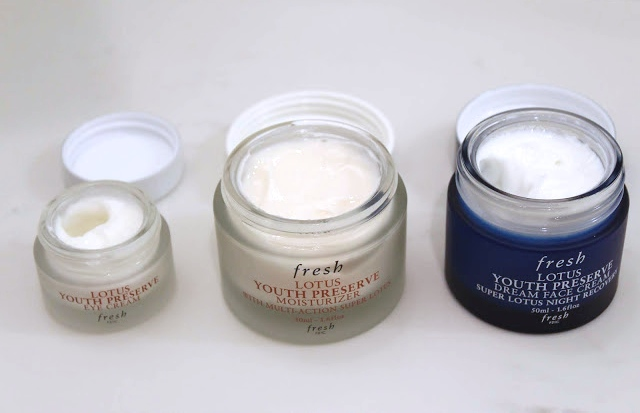Fresh Lotus Youth Preserve, skin care, face moisturizer, eye cream, night cream, Fresh, face cream, Sephora, Influenster