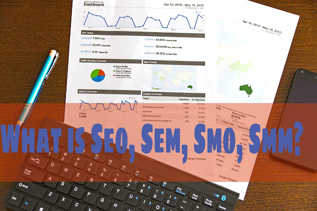 What is Seo, Sem Smo, Smm
