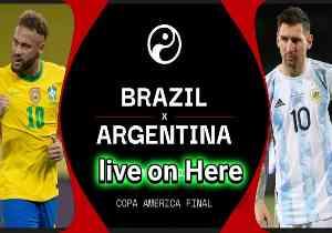 আর্জেন্টিনা বনাম ব্রাজিল ২০২১ ফাইনাল কোপা আমেরিকা লাইভ | Argentina Vs Brazil 2021 Copa America Live