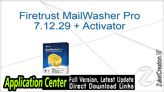 Firetrust MailWasher Pro 7.12.29 + Activator