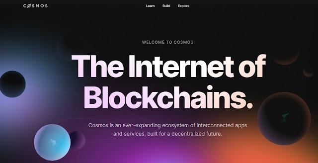 Screenshot Website Cosmos (ATOM)
