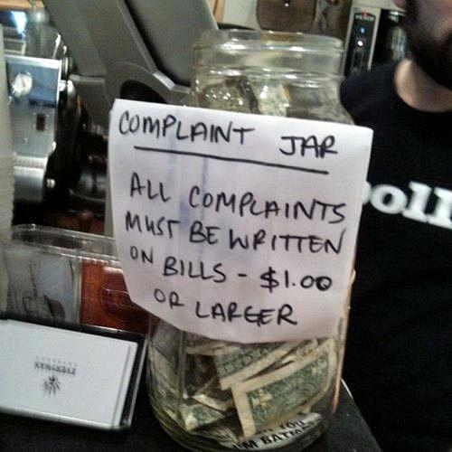 introducing the complaint jar
