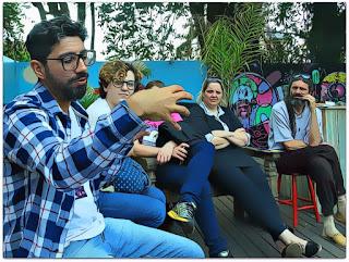 Tiago Almeida, do Grupo Girino, explica o processo de criação dos espetáculos