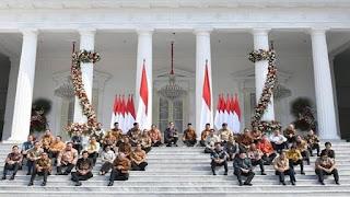 inilah wajah kabinet indonesia maju Jokowi - Ma'ruf Amin
