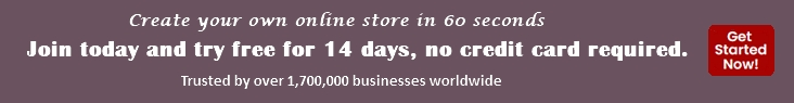 Create your own online store in 60 seconds