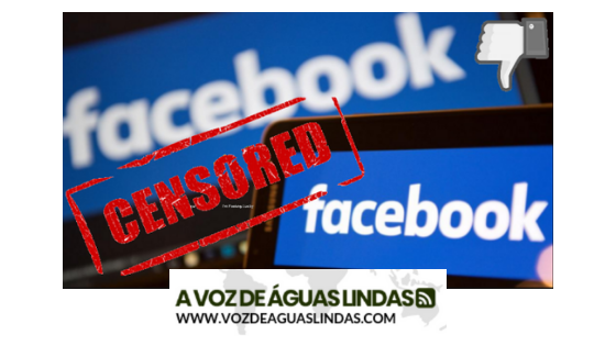 JORNAL VOZ DE ÁGUAS LINDAS - CENSURADO PELO FACEBOOK