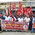 भाकपा का महंगाई, भ्रष्टाचार, एमएसपी, दलित आदिवासियों को भूमि पर कब्जा दिलाने के लिए हल्लाबोल प्रदर्शन
