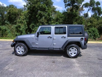 2014 Wrangler Unlimited Sport Silver Colors