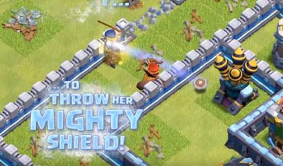 COC update new mighty shield