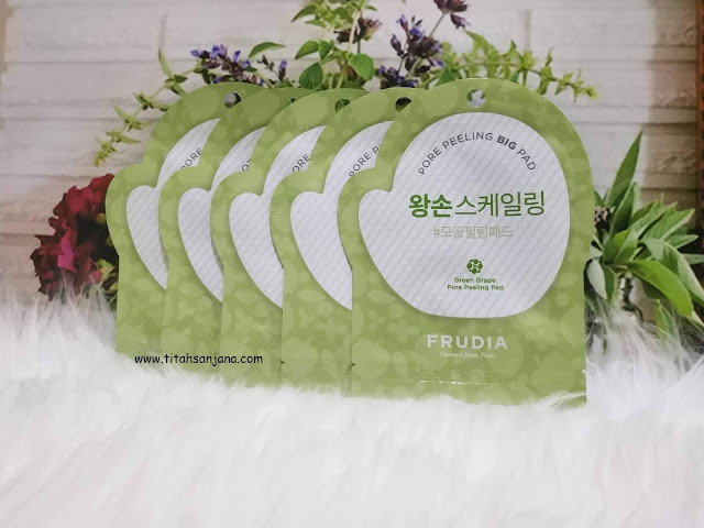 FRUDIA GREEN GRAPE PORE PEELING PAD