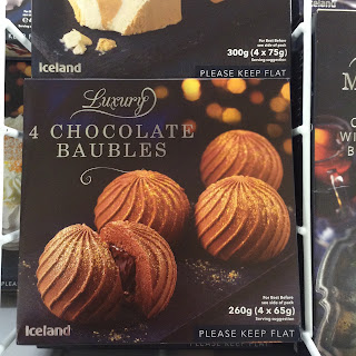 iceland luxury chocolate baubles