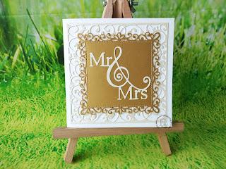 Kartka Mr&Mrs