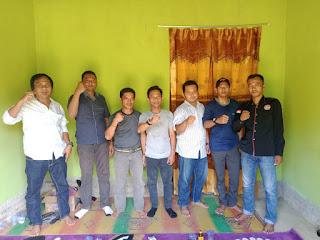 Ketua  Setwil FPII Lampung  kunjungan ke Korwil Kabupaten pesawaran