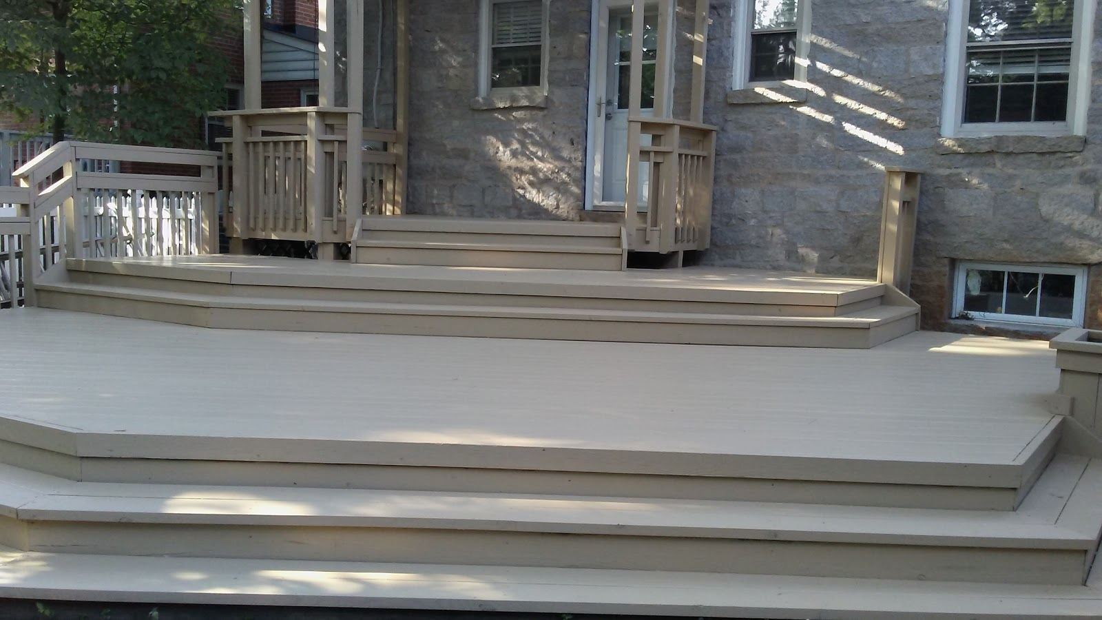 Southern Home Wood Deck Cleaning Driveway Cleaning And