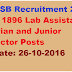 RSMSSB Recruitment 2016 Apply 1896 Lab Assistant, Librarian and Junior Instructor Posts