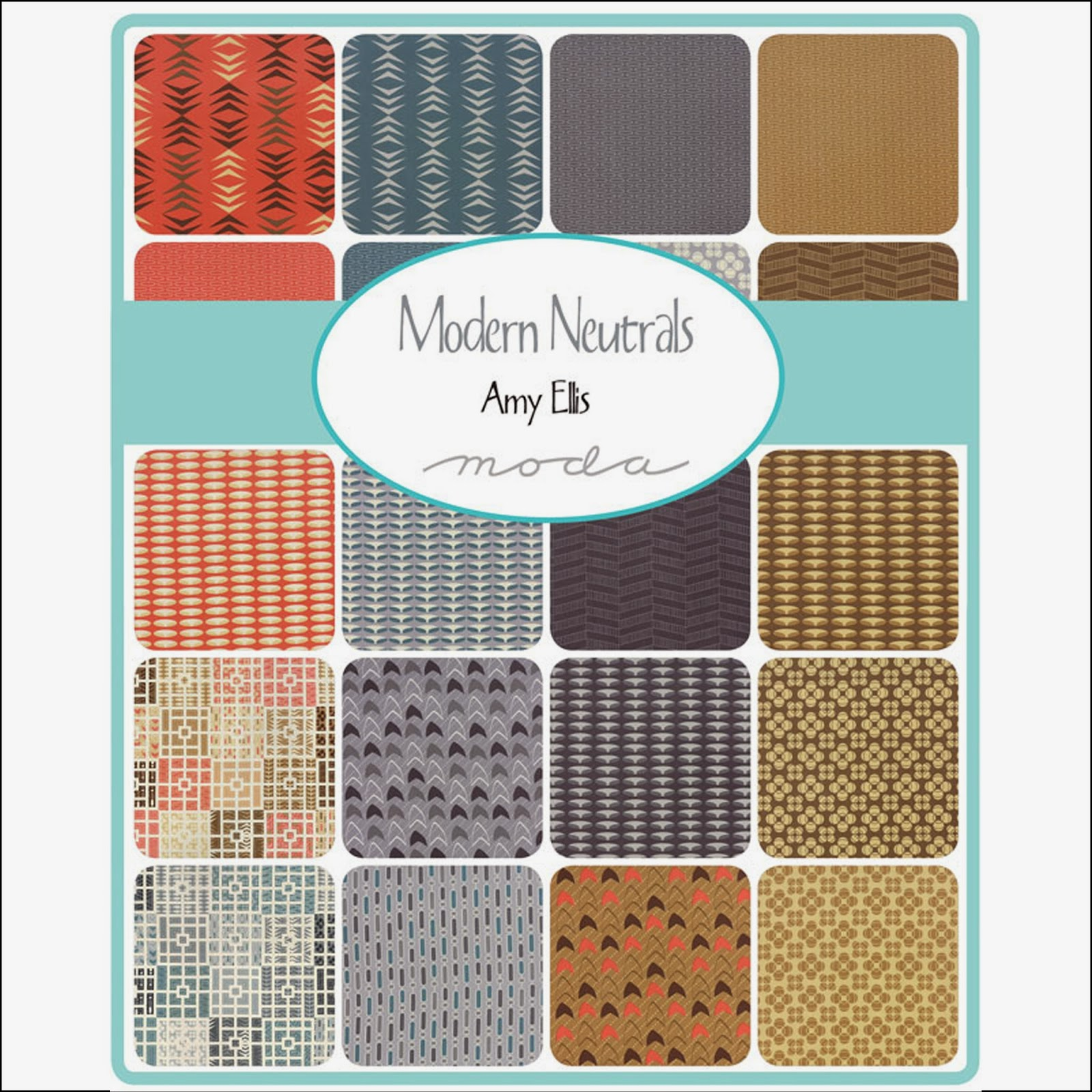 Moda MODERN NEUTRALS Quilt Fabric by Amy Ellis for Moda Fabrics