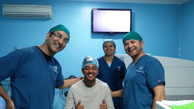 Sandeep lamichhane Lasik surgery at Tilganga, Smile