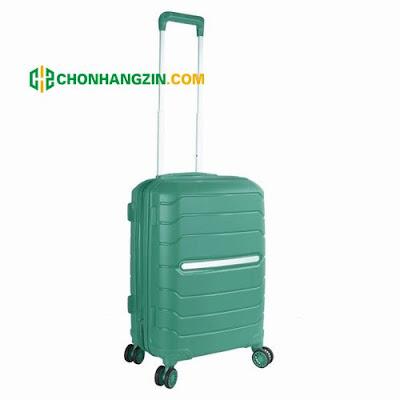 vali kéo miti màu xanh