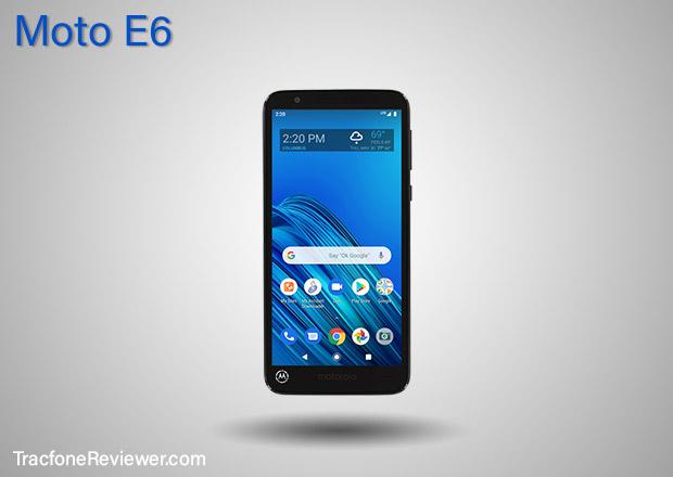 tracfone Moto E6 (XT2005DL)