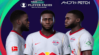 PES 2021 Faces Dayot Upamecano by SR