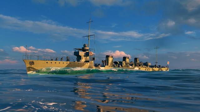 Participa en la misión del tachibana en WOWS, y llévate gratis este barco premium!