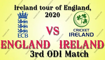 Who will win ENG vs IRE 3rd ODI Match